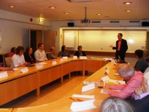 Martin Andreasson inleder om partiprogrammet